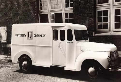 Old UT Creamery Truck